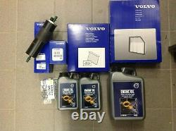 Genuine Volvo Service Kit V40 2.0d Oil/Air/Fuel/Pollen Filters And Engine Oil 6l