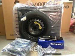 Genuine Volvo V40/V40CC Spare Wheel Full Conversion Kit Everything You Need