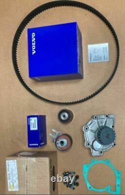 Genuine Volvo Water pump & Timing Belt Kit D5 V70 XC70 XC90 S60 V50 V40 C30 C70