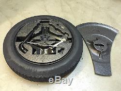 Genuine Volvo Xc60 Space Saver Spare Wheel Tyre Kit / Tools / Foam