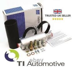 Genuine Walbro Gsl392 In-line External 5 Bar Fuel Pump + Complete Fittings Kit