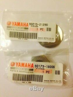 Genuine Yamaha Fzs600 Fazer Front Sprocket Nut And Washer Kit