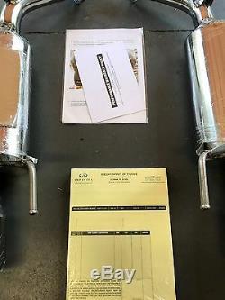 Infiniti M37 M56 Q70 Q70L Genuine SportS Muffler Kit B0100-Q70SM, B0100Q70SM