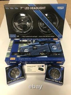Land Rover Defender Genuine WIPAC Complete LED Light Upgrade kit