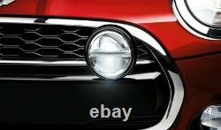 MINI Genuine Kit LED Auxiliary Driving Lamps Black Spotlight lamp 63122287148