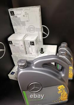 Mercedes E Class service kit E220CDI 213 651 DIESEL Genuine Parts, All Filters