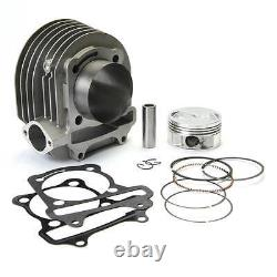 NCY CYLINDER UPGRADE KIT (ALUMINUM, 61mm, 171cc) FOR GENUINE / GY6 MOTORS