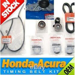 NEW! Genuine/OEM Honda Acura Timing Belt & Water Pump Service Kit V6 2003-2014