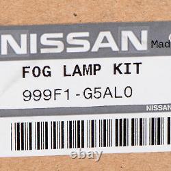 NEW OEM 2017-2020 Nissan Rogue Fog Light Lights Lamp Kit GENUINE 999F1G5AL0