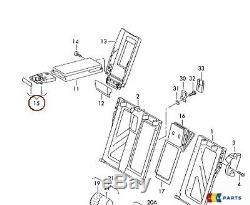 New Genuine Audi A6 11-16 A7 11-16 Genuine Rear Armrest Cup Holders Retrofit Kit