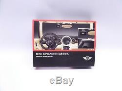 New Genuine BMW Mini Advanced Car Eye Front and Rear Camera Cameras KIT Dash Cam