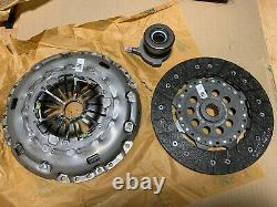 New Genuine Ford Focus Rs Mk2 Clutch Kit 3 Piece / Upgrade For Focus St 225