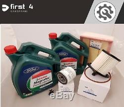 New Genuine Ford Transit Mk8 2014 2.2 Service Kit Inc. Oil And All Filters Sv13
