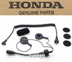 New Genuine Honda Deluxe Headset Open Face Helmets GL1800 GL1500 Goldwing #O87