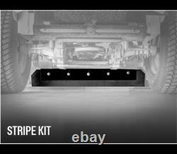 New Genuine OEM Hustler 122842 Stripe Kit for X-ONE Side Discharge Decks ONLY