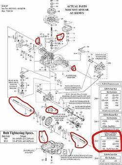 New Genuine OEM Tuff Torq Axle Shaft Repair Kit for K46 Transmission 1A646099730