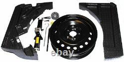 Nissan Qashqai 16 Spare Wheel Kit Foams Jack Brace No Tyre Genuine KE4104E120
