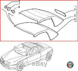 Original Alfa Romeo 916 Spider Verdeck Schwarz Manuell Elektrisch 156046474 Neu