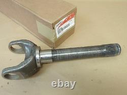 Outer Axle Yoke Shaft Stub 35 Spline Kit Chevy Dana 60 Front Genuine Spicer