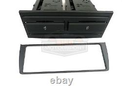 Porsche Cup Holder Kit and A/C HVAC Trim Bezel Kit Retrofit 986 Boxster GENUINE
