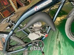 Real MZ65 Expansion Pipe with Minarelli Intake 80cc Bicycle Engine Kit