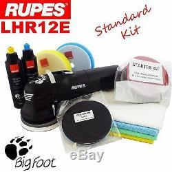 Rupes BigFoot LHR12E 5 Duetto Random Orbital Detailing Polishing Machine Kit