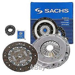 SACHS 3 Piece Clutch Kit Inc Bearing VW GOLF, PASSAT, CORRADO 2.8 2.9 VR6