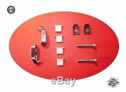 Scheinwerferabdeckungen Plexiglas Spider 105 / 115 66-93 Satz Set Kit Alfa Romeo