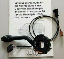 Tempomat Nachrüstsatz für VW Bus T4 TDI Multivan GRA cruise speed control kit