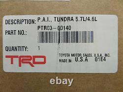 Toyota 16-19 Tundra Sequoia TRD Performance Cold Air Intake Kit Genuine OE OEM