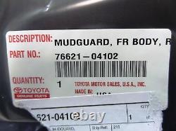 Toyota Tacoma Complete 4x4 Mud Guard Flap Kit Genuine OEM 2005-2015