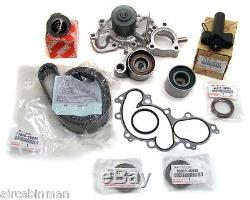 Toyota V6 Trucks TIMING BELT+WATER PUMP KIT with Hydraulic Ten Genuine +OE Parts