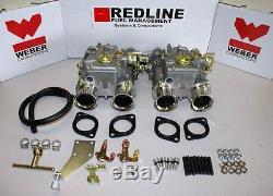 VW Dual 40 DCOE Weber Carburetor kit 8V engines Rabbit Golf Scirocco Dasher