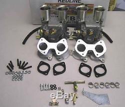 VW Dual 45 DCOE Weber Carburetor kit 16V engines Golf Jetta Scricco