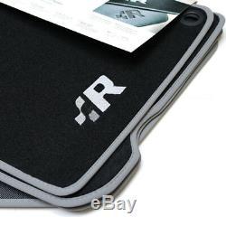 VW Golf 4 R32 Premium Textilfußmatten vorn hinten Stoffmatten Fussmatten Velours