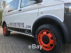 VW SWAMPER WHEEL ARCH KIT VW Transporter T5 SWB Genuine VW OEM FREE SHIPPING