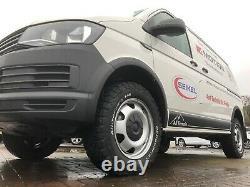 VW SWAMPER WHEEL ARCH KIT VW Transporter T6 LWB Genuine VW OEM FREE SHIPPING