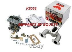Weber Carburetor Kit Austin Mini, Mg Midget 948,1098,1275 CC Real Redline Weber