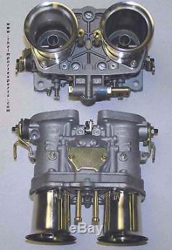 Weber Carburetor Kit VW Bug & Type 1 Dual 44 IDF Redline Kit withGenuine Webers