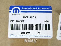 08-19 Dodge Challenger Performance Kit Capot Pin Pins Chrome Nouveau Mopar Véritable Oe