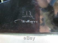 08-20 Dodge Challenger Chrome Capot Pins Kit Inoxydable Mopar Véritable Oem