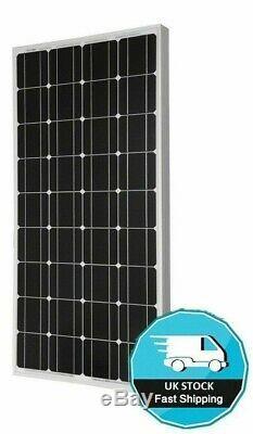 125 Watt Motorhome Camper Rv Panneau Solaire Kit Véritable Mppt Usb 125w 120w 120