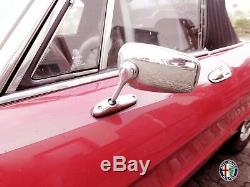 2 Aussenspiegel Spiegel Ovale Araignée Alfa Romeo 105 115 Giulia Alfetta Gt Mit Kba
