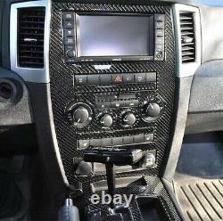 2008-2010 Jeep Grand Cherokee Srt8 Real Carbon Fiber Dash Trim Kit