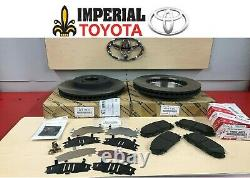 2010-2015 Toyota Prius Genuine Oem Nouveau Kit De Frein Avant Rotors Pad Kit & Shim Kit