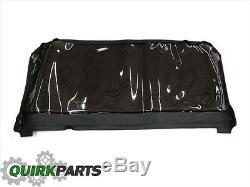 2011-2017 Jeep Wrangler 2 Portes 2dr Noir Soft Top Fenêtre Kit Nouveau Véritable Mopar