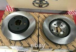2013-18 Rav4 Xle Se Ltd Kit De Frein Toyota D'origine Avant Rotors Tcmc Pads & Shims