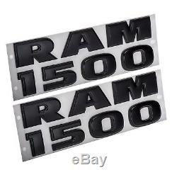 2013-2018 Dodge Ram 1500 Emblem Badge Kit Nameplate Nouveau Mopar Véritable Oem