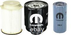 2013-2018 Ram 2500 3500 4500 5500 6.7l Diesel Oil Fuel Filter Kit Mopar Authentique