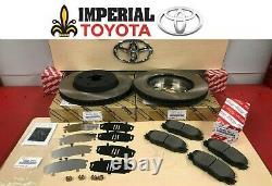 2013-2018 Rav4 Le Avant Véritable Toyota Kit De Freins Oem Rotors, Tcmc Pads & Shims